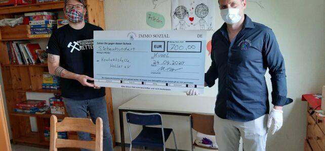 24.04.2020 – Spende von Immo Sozial