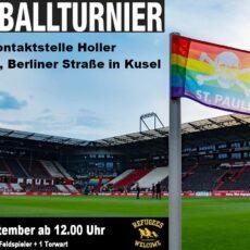 Fußballturnier am 12. September ab 12 Uhr