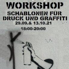 Workshop Schablonen – 13. Oktober 2021