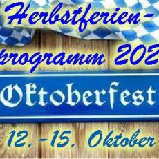 Herbstferienprogramm 2021 ab 12. Oktober